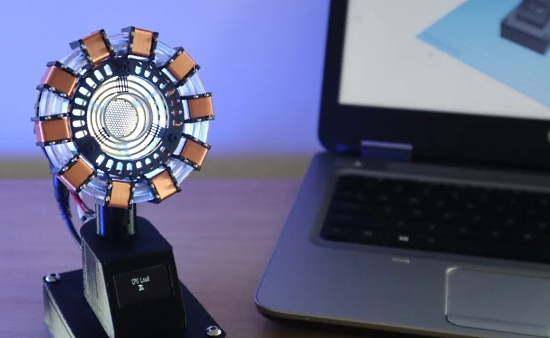 Arc Reactor CPU Load Monitor