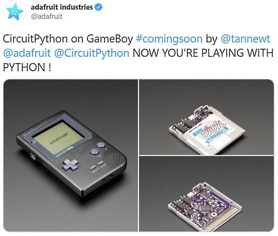 GameBoy CircuitPython