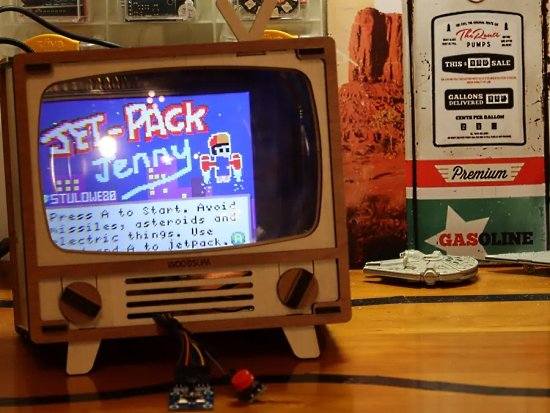 Retro TV MakeCode Arcade