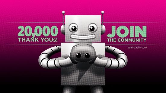 20,000 THANKS
