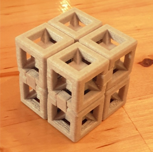 Infinite Torture Cube v2 by z0333 Thingiverse