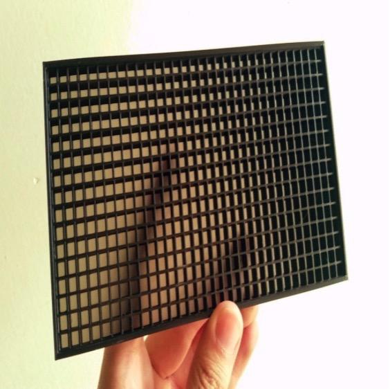 LED Matrix Diffuser Grid by MLEVee Thingiverse