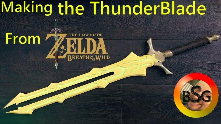 Thunderblade from Zelda BOTW by BlacksmithingGamer Thingiverse
