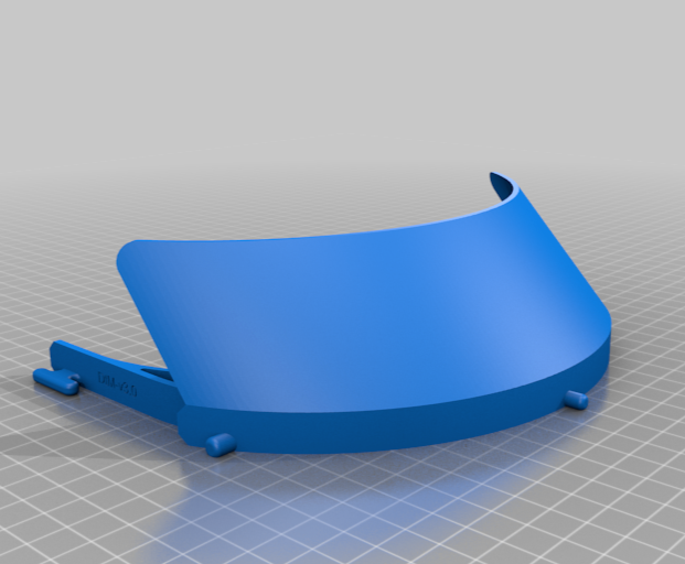NIH Approved face shield design by Mortimer452 Thingiverse