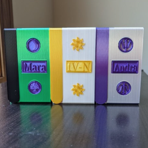 Portable Dice Tower by Extruded Design Thingiverse