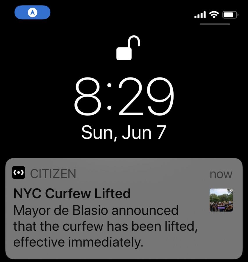 Curfewlifted