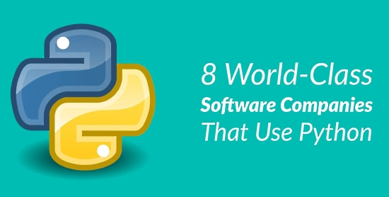 8 World-Class Software Companies That Use Python