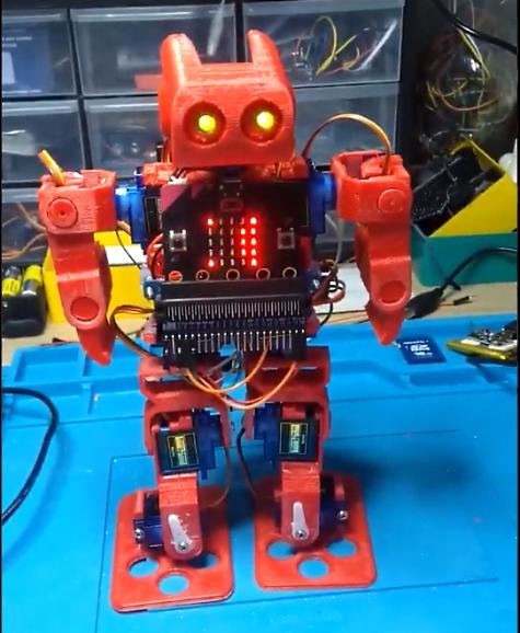 micro:bit based robot