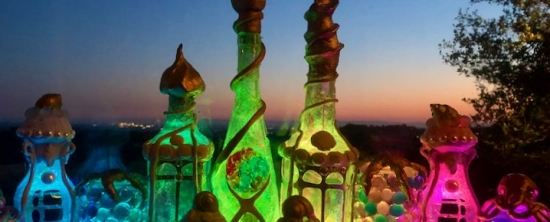 Glowing Bottle Castle