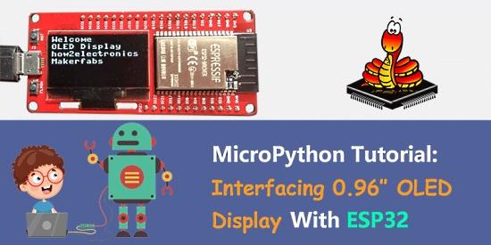 MicroPython ESP32 OLED Display