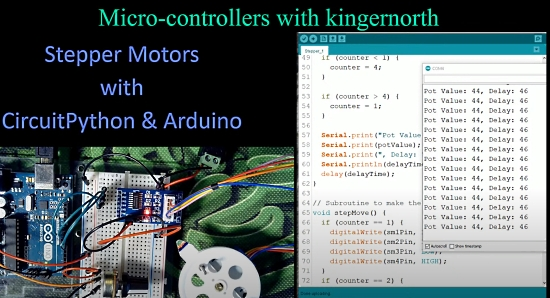 Stepper Motors with CircuitPython