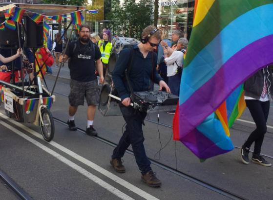 Festmaskinen at 2015 pride