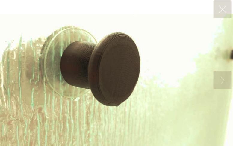 Glass Shower Door Knob #3DPrinting #3DThursday