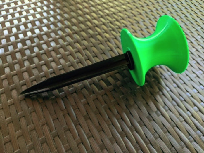 Garden Hose Roller Guide by Frio Thingiverse