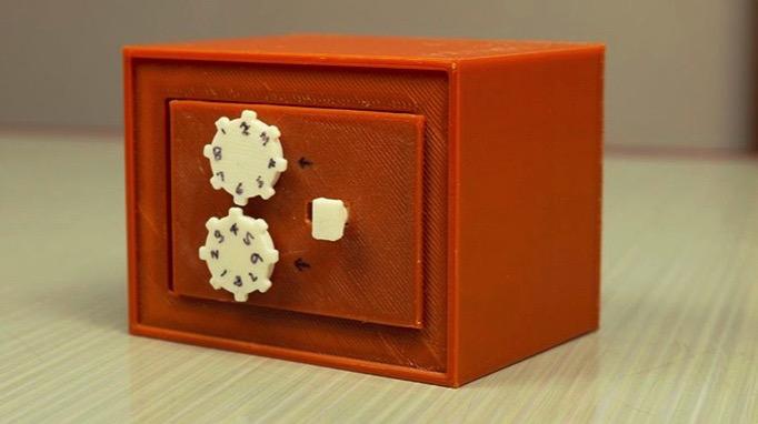 Mini Safe Box by RAVI3D Thingiverse