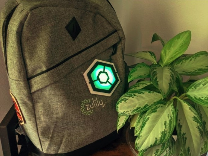 NeoPixel Hexagon Backpack by colemangrill Thingiverse