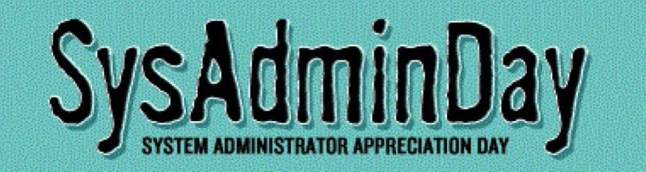 SysAdminDay Header