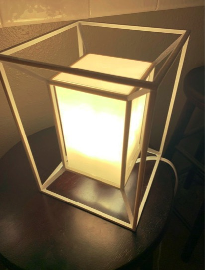 Tesseract Lamp by ethanhj Thingiverse