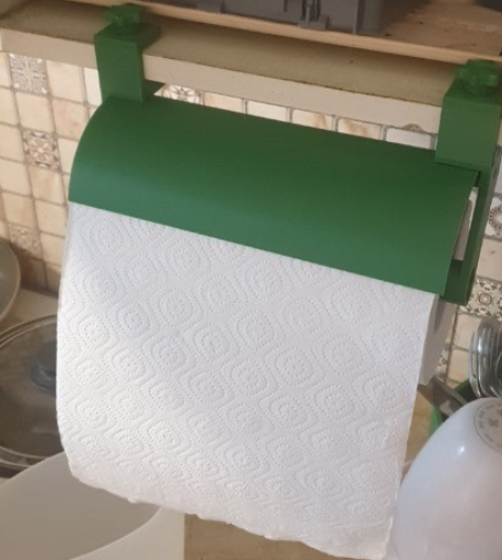 Kitchen Roll Holder by realchel Thingiverse