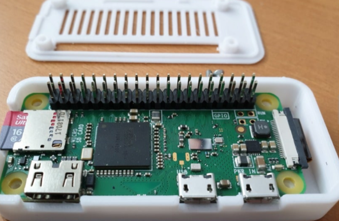 Raspberry Pi Zero W Camera Case and holder by WaldMaker Thingiverse