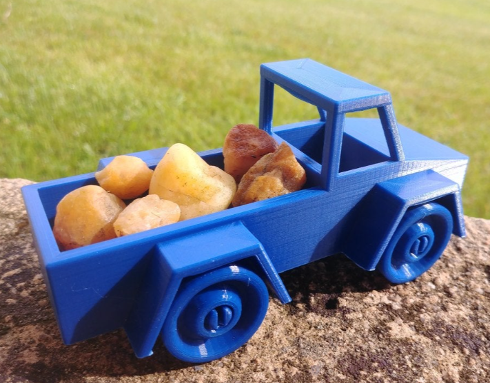 Toy Truck by Norbeck Thingiverse