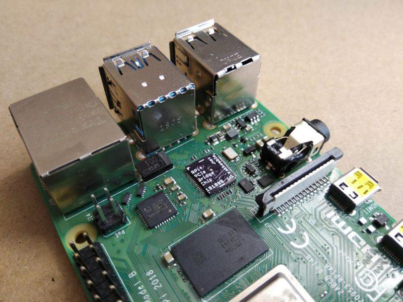 Raspberry pi 4 installed pcie bridge