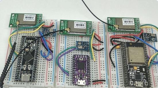 LoRaWAN Node with MicroPython and CircuitPython