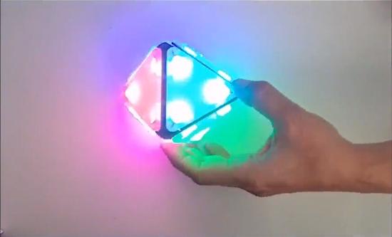 Smart LED Octohedron