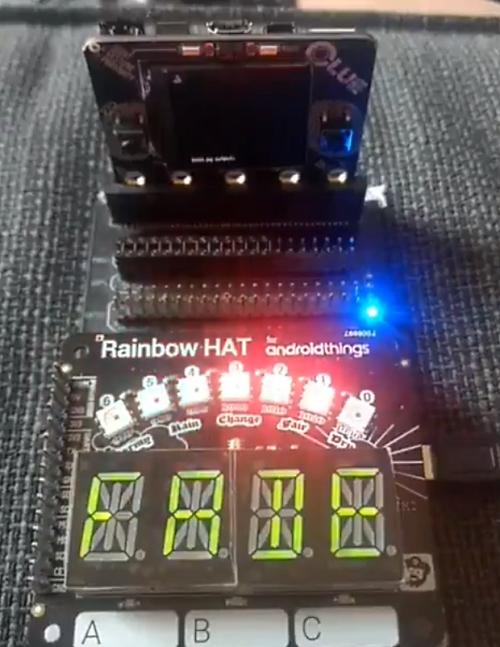 Rainbow HAT and CircuitPython