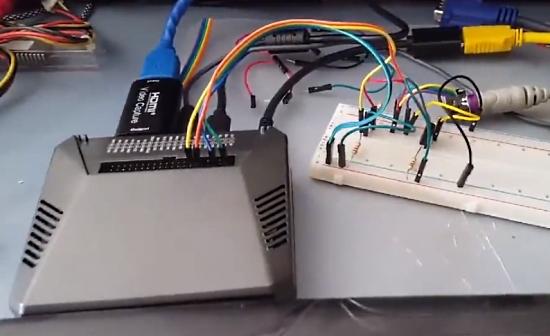 Raspberry Pi PS2 Keyboard Emulator