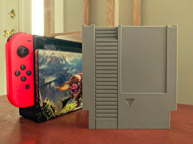 NES Switch Cartridge Case V2 by flyingpurplecow Thingiverse