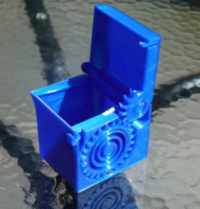PRINT IN PLACE SPRING LOADED BOX by Turbo SunShine Thingiverse