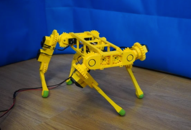 RoboDog v1 0 by robolab19 Thingiverse