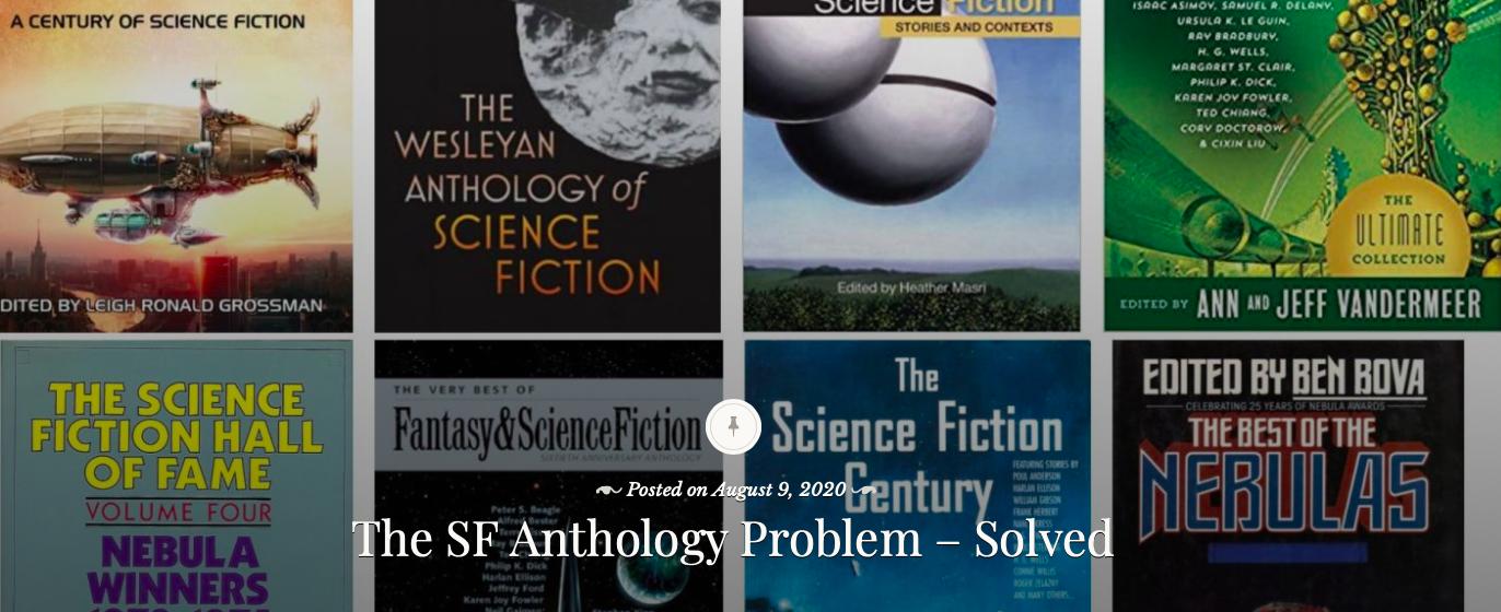 The Science Fiction Anthology Math Problem