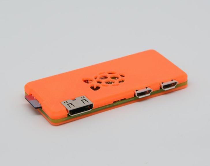 Slim Raspberry Pi Zero W Case PrusaPrinters
