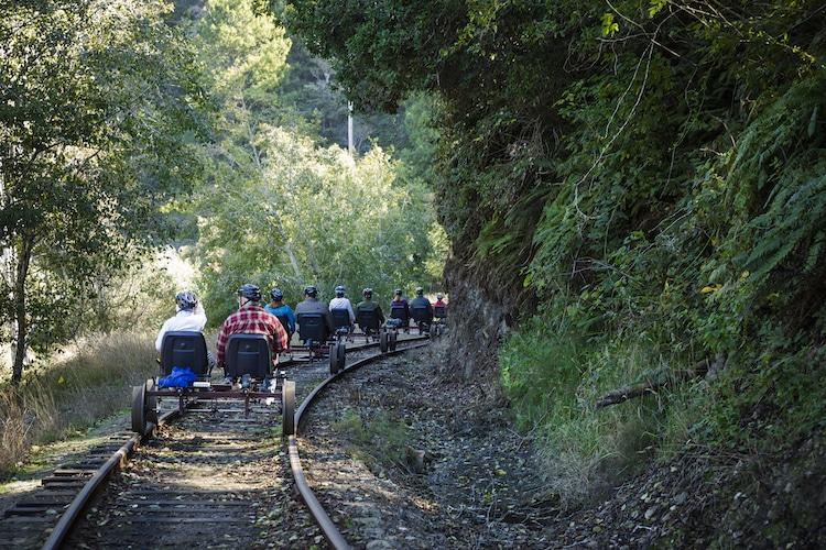 Skunk train railway tour 2