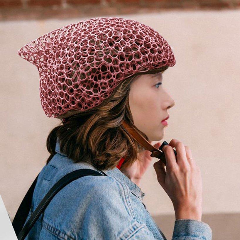 Voronoi helmet bicycle designboom 004