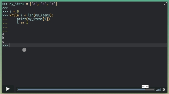Writing Pythonic Loops