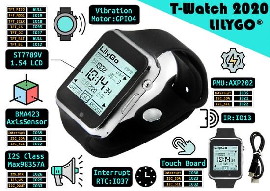 Lilygo TTgo T-Watch 2020