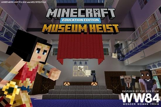 Wonder Woman Museum Heist