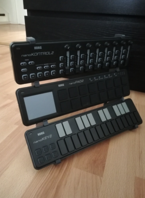 Korg nanoStand by codesnippy Thingiverse