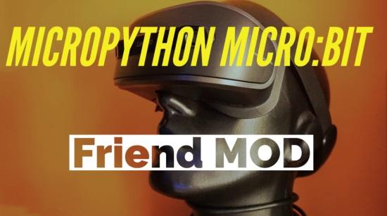 MicroPython for micro:bit chatbot MOD