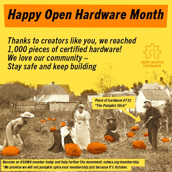 Happy Open Hardware Month 2020