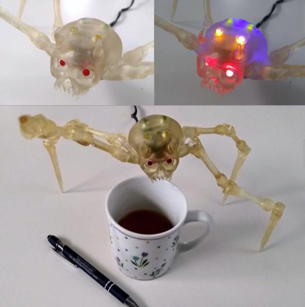 Skullcrawler by redbot Thingiverse
