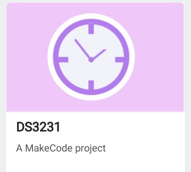 DS3231 Clock Extension