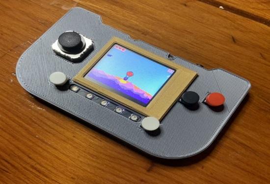 MakeCode Arcade on PyGamer