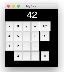 Make a simple calculator with guizero & Python