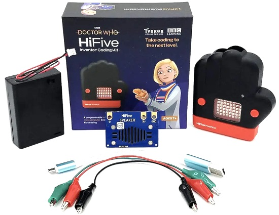 "Doctor Who ""HiFive Inventor"" Coding Kit"