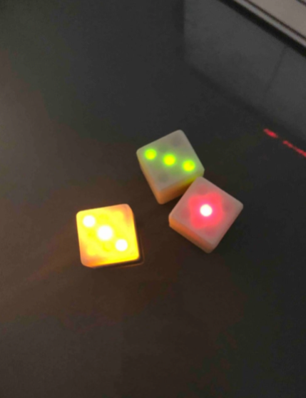 Electronic DICE with Attiny by Patave Thingiverse