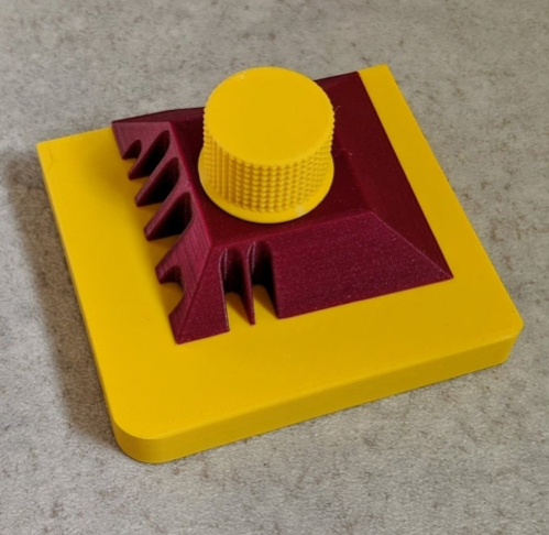 Fully Printed Bending Tool For Fine Sheet Metals e g Etched Parts by blecheimer Thingiverse